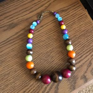 Jewelry - Multi colored beaded necklace
